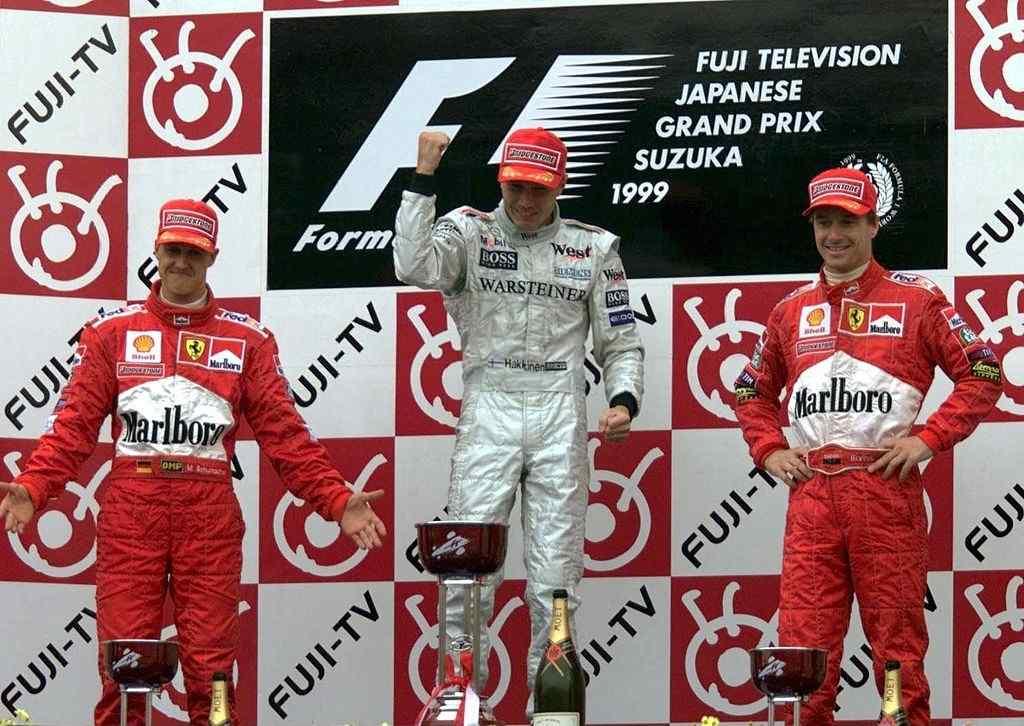 Mika Hakkinen pole-stars of F1