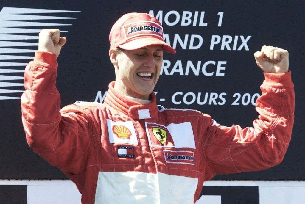 Michael Schumacher all time best f1 driver