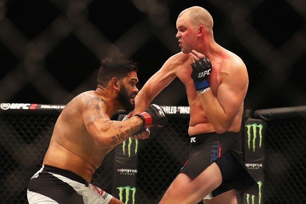 Antônio Silva vs. Stefan Struve UFC Fight Night 87