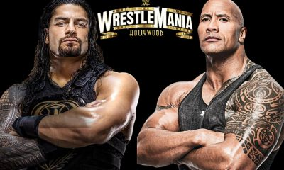 Roman Reigns vs The Rock