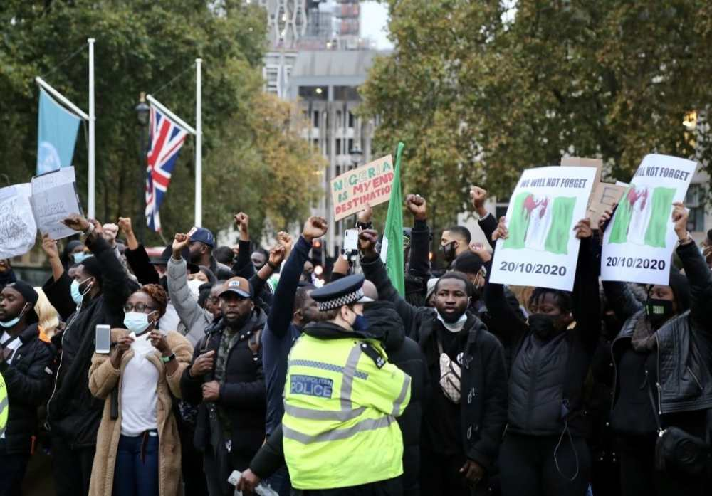 UK protests