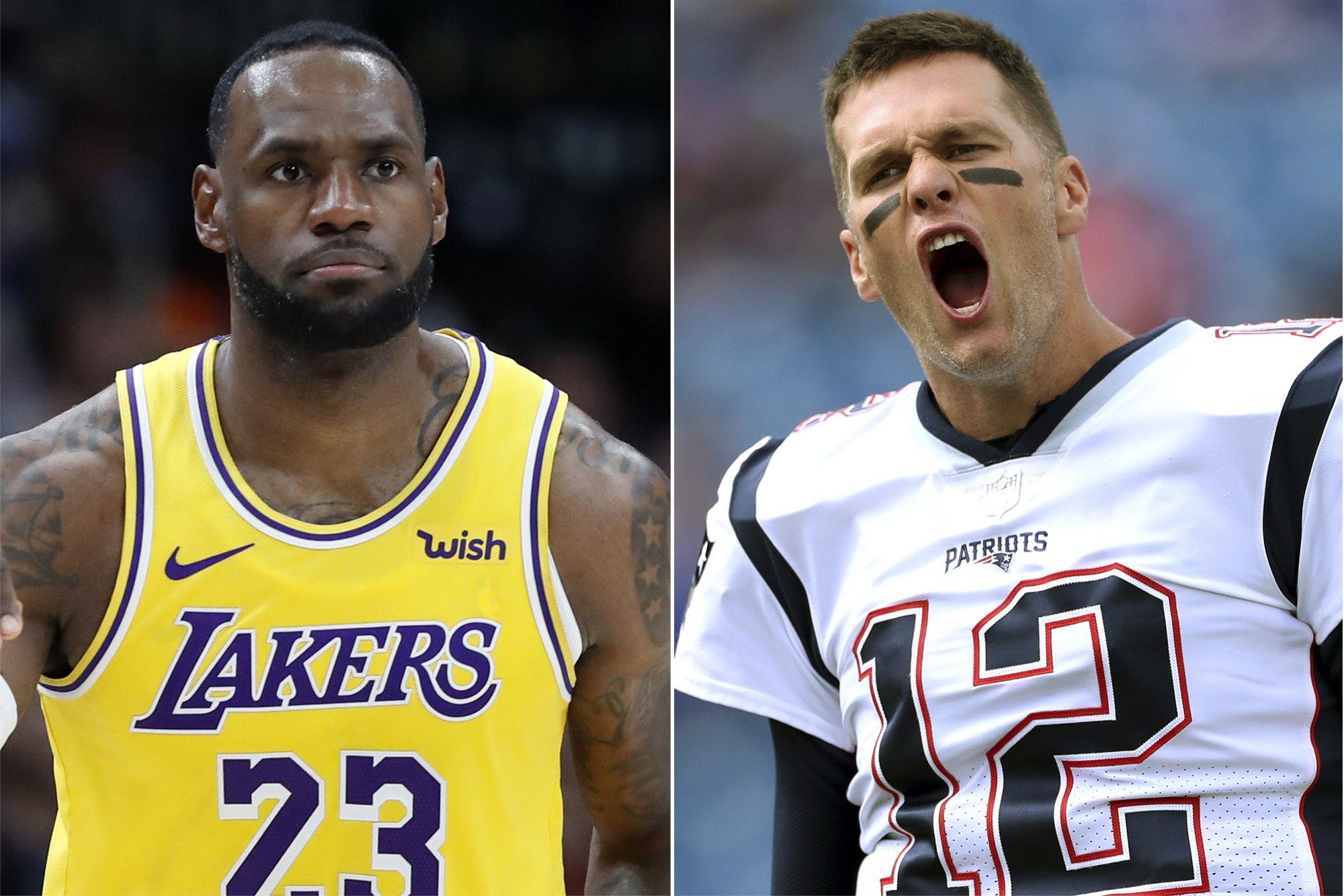Tom Brady vs LeBron James