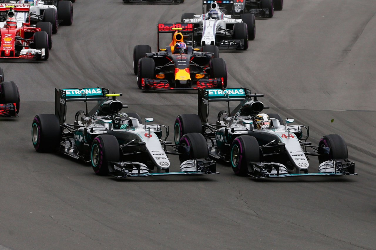 Intense F1 Title Rivalries