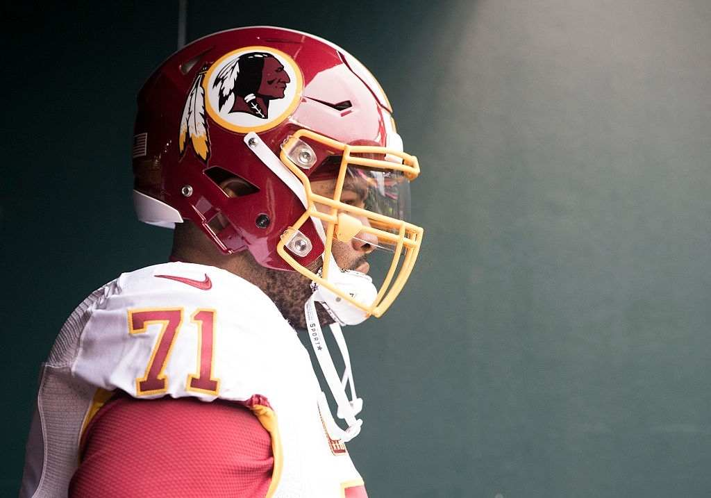 Trent Williams highest paid offensive lineman in NFL