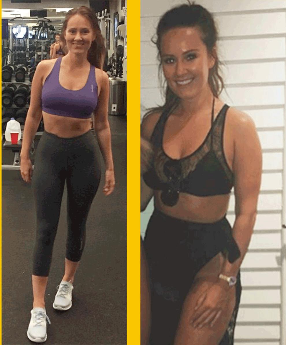 Conor McGregor Wife Dee Devlin in Gym