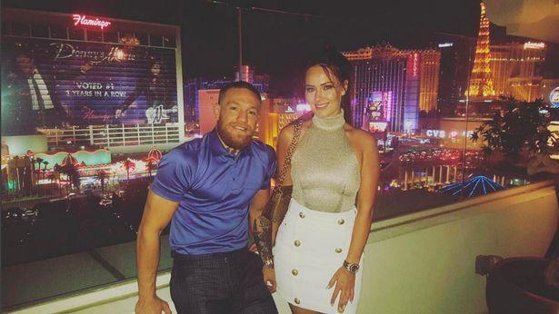 UFC fighter Conor McGregor and wife Dee Devlin