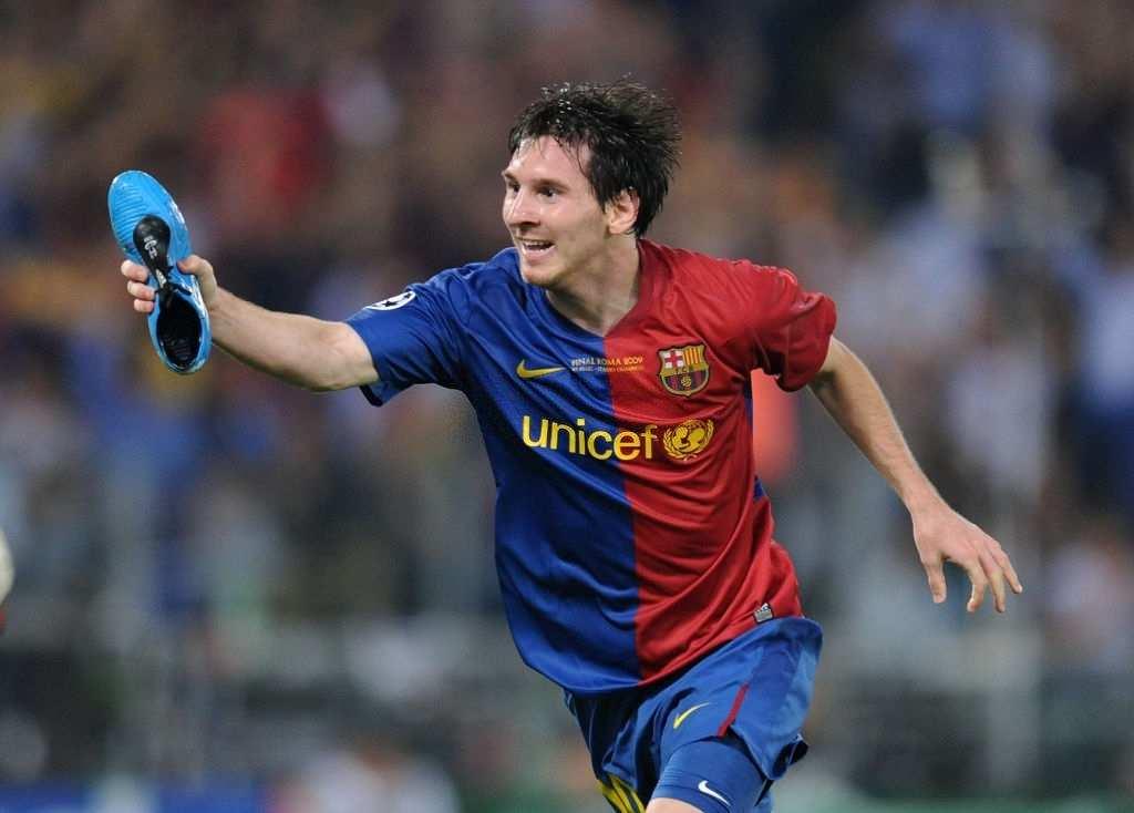 Lionel Messi 2009 header