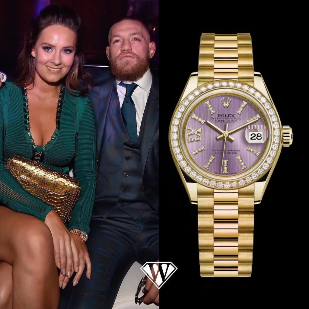 Dee Devlin & Conor McGregor – Rolex Datejust