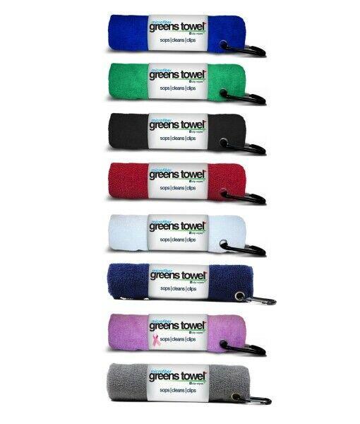Greens Towel Microfiber Golf Towels