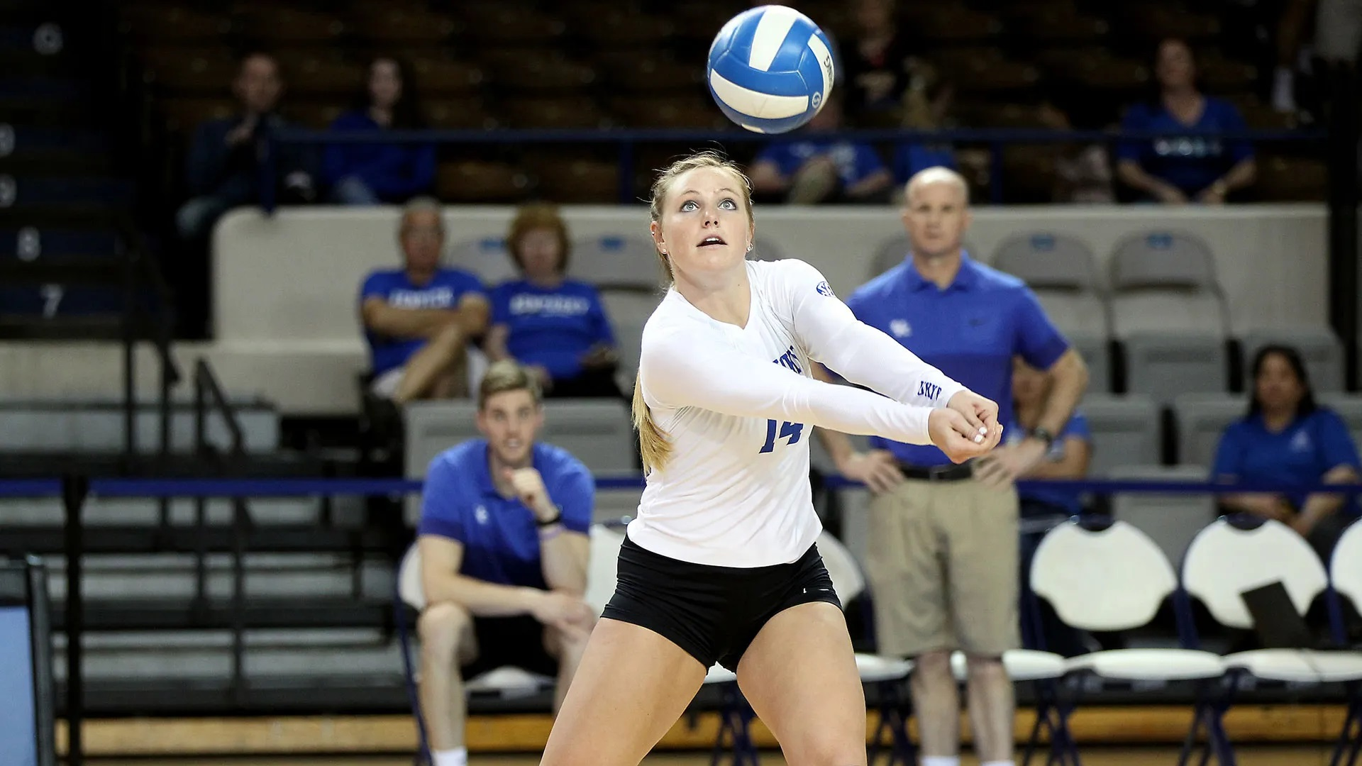 Harper Hempel played for the women's volleyball team from 2015 to 2017 for University of Kentucky