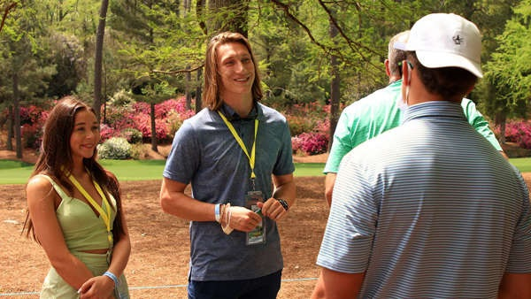 Trevor Lawrence wife charity work