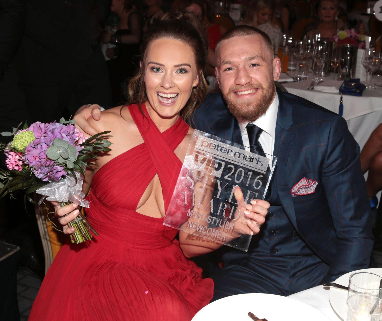 Conor McGregor fiancé Dee Devlin: Award