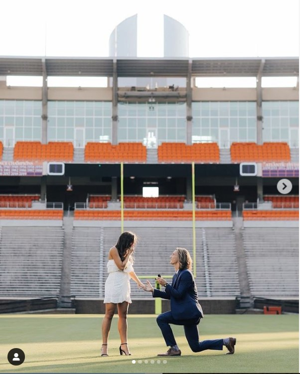 Trevor Lawrence proposed her girlfriend Marissa Mowry