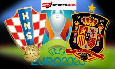 Watch Euro 2020 Croatia vs Spain Reddit Soccer Streams