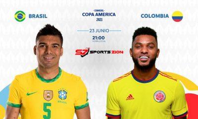 Copa America 2021 Brazil vs Colombia Soccer Streams