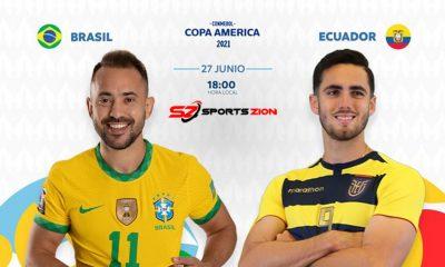 Watch Copa America 2021 Brazil vs Ecuador Soccer Streams