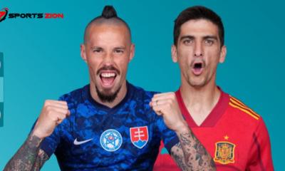 Watch Euro 2020 Slovakia vs Spain Soccer Streams