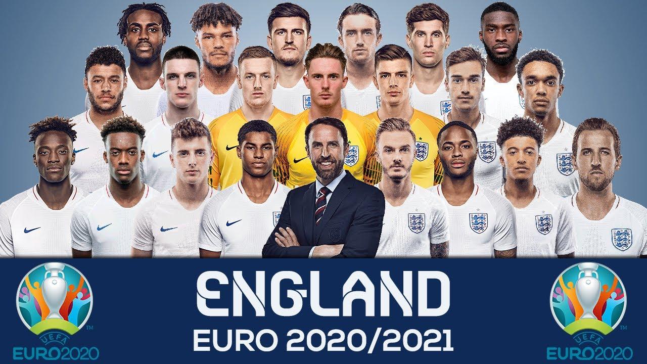 Team England Euro 2020