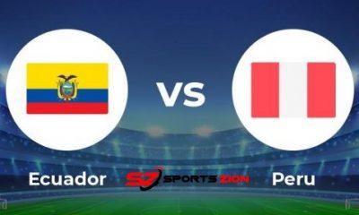Ecuador vs Peru Soccer Streams