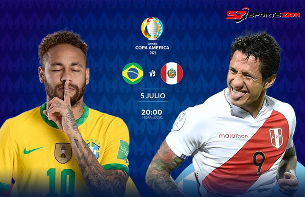 Copa America 2021 Brazil vs Peru Free Live Soccer Streams