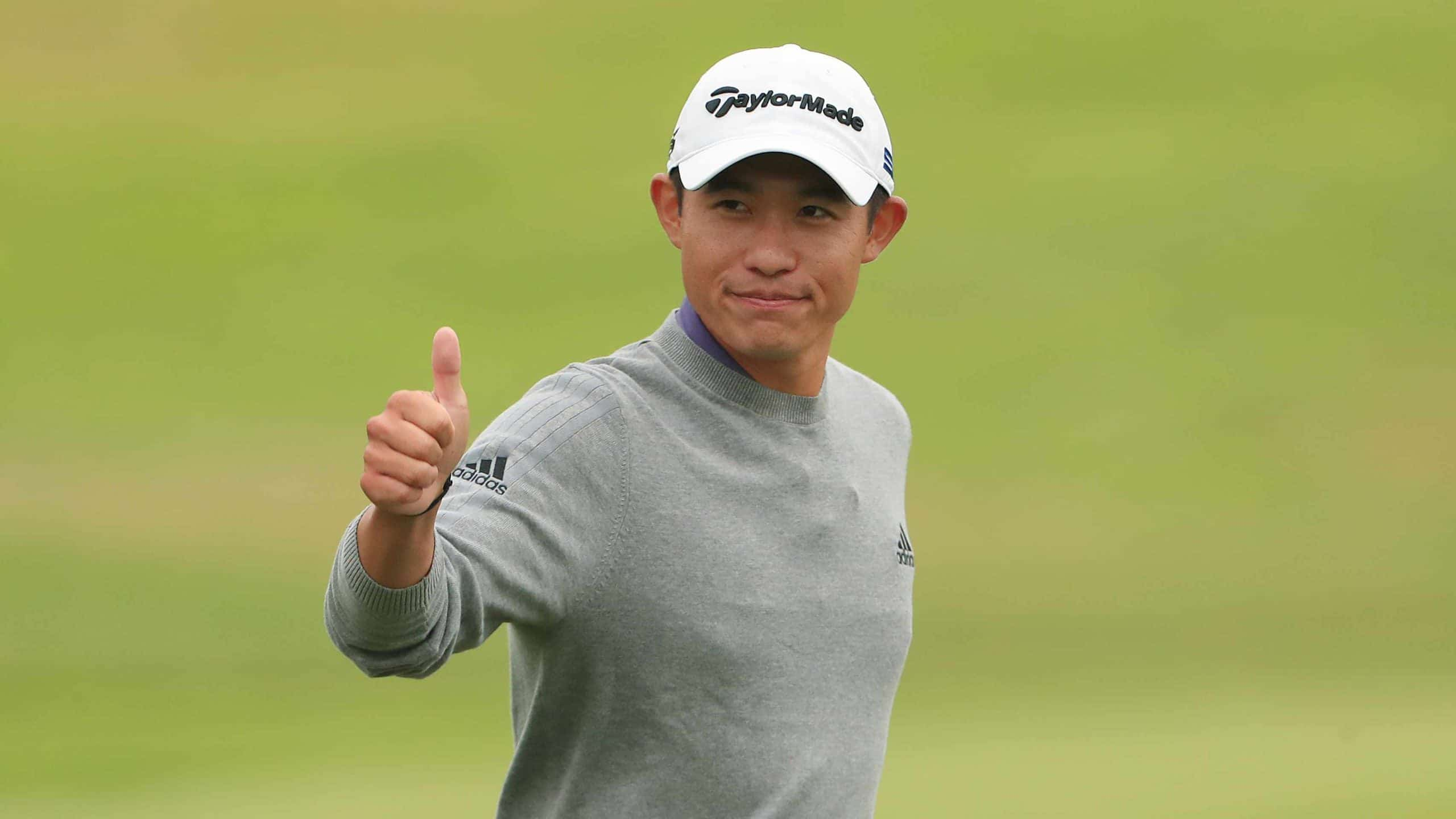 British Open 2021 winner collin morikawa