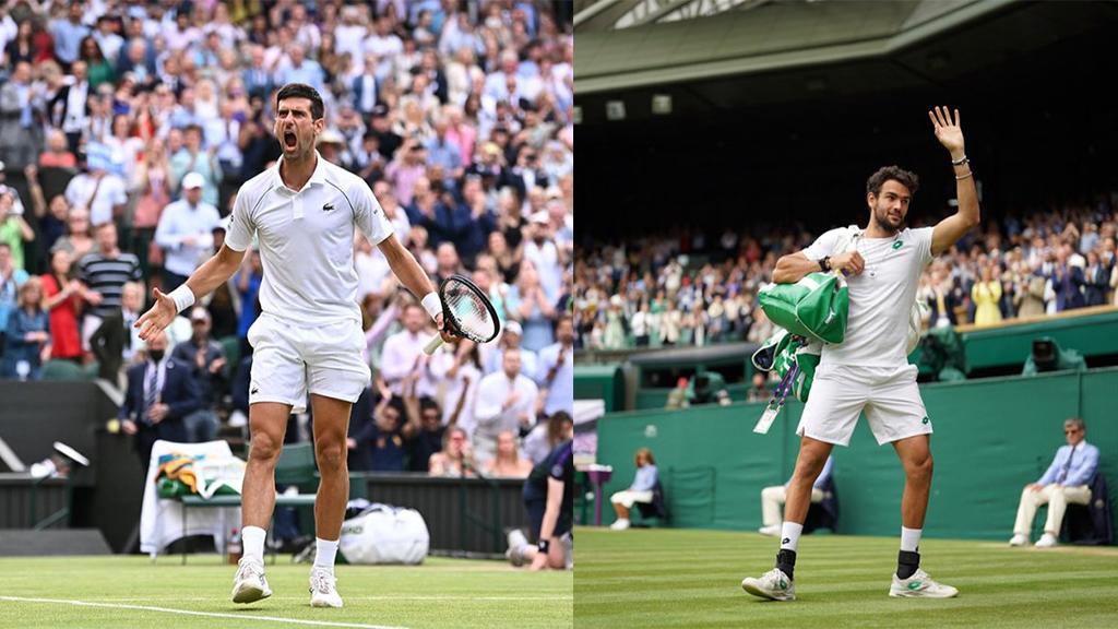 Wimbledon Final 2021 Novak Djokovic vs Matteo Berrettini