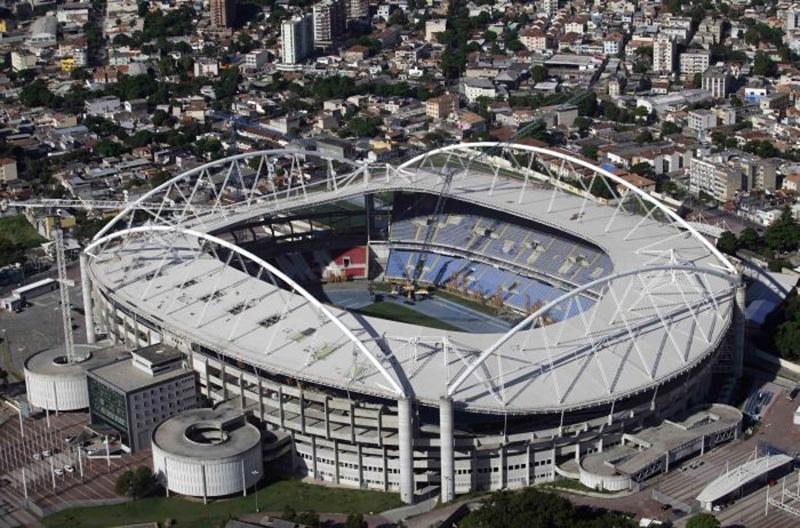 The Estádio Olímpico Nilton Santos will host the Copa America 2021 Brazil vs Chile.