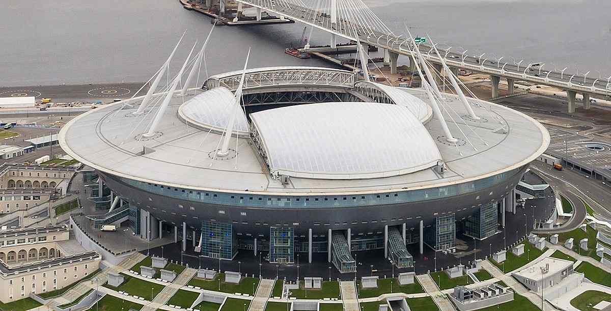 Krestovsky Stadium will host the Euro 2020 Switzerland vs Spain.