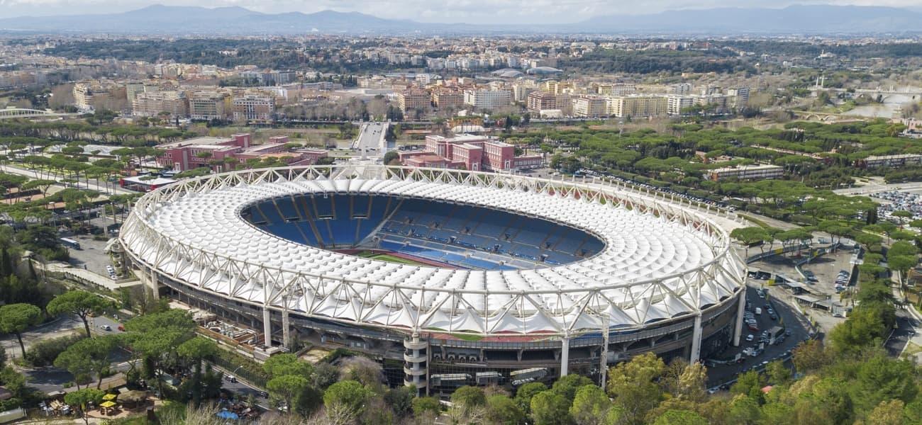 Stadio Olimpico will host the Euro 2020 Ukraine vs England