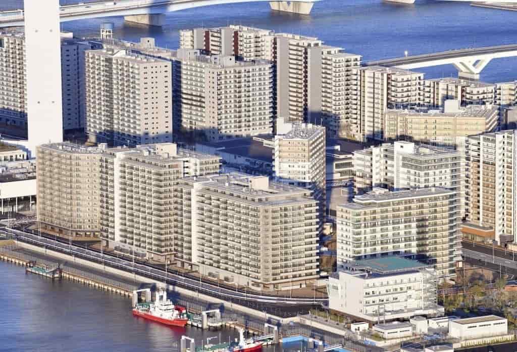 Tokyo Olympic Village