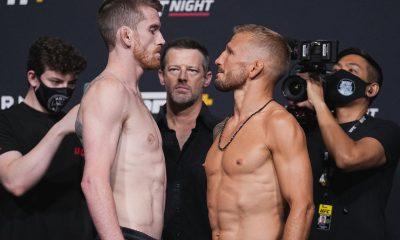 UFC Vegas 32 Cory Sandhagen vs T.J Dillashaw Purse