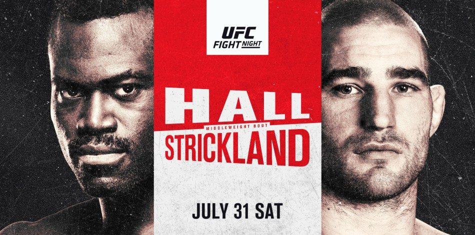 UFC Vegas 33 Fight Cards