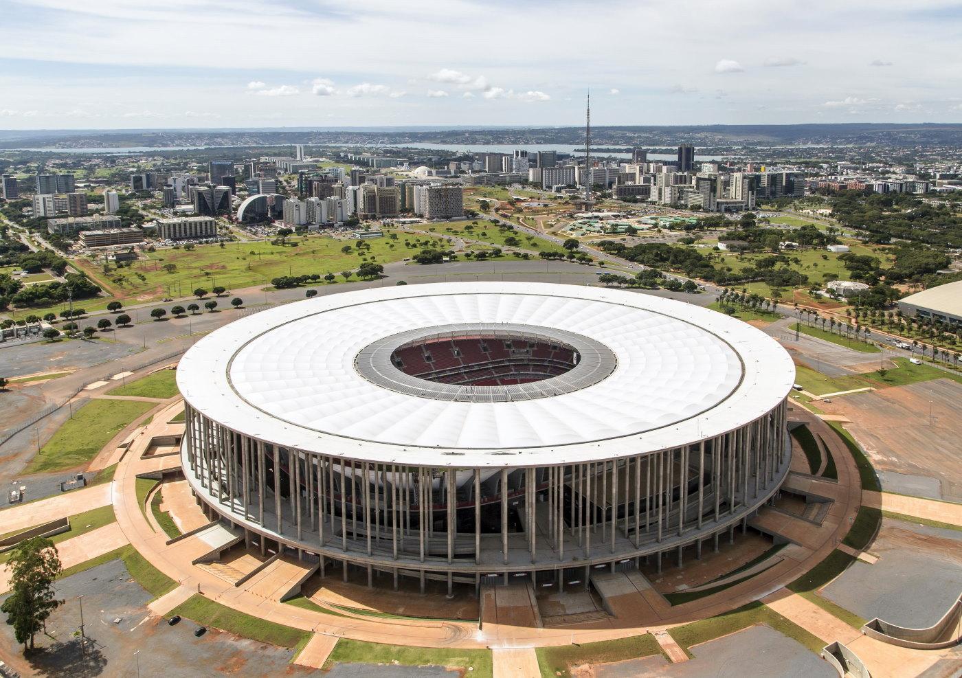 Estádio Nacional Mané Garrincha will host the Copa America 2021 Argentina vs Colombia.