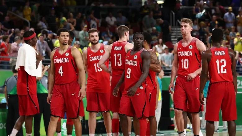 Canada's men's basketball team