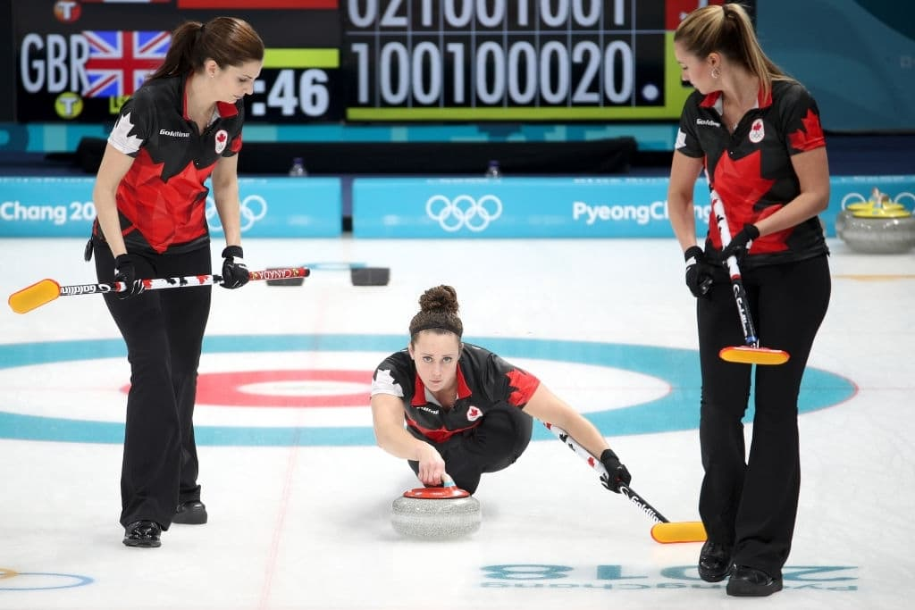 Curling - Winter Olympics Day 12 Team Canada