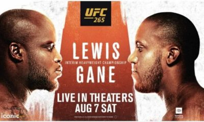 Derrick Lewis vs Ciryl Gane Purse