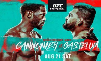 Kelvin Gastelum vs Jared Cannonier Fight Night Purse payout salaries bonus