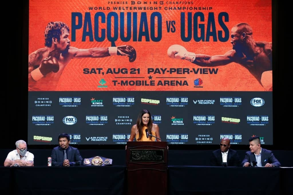 Yordenis Ugás v Manny Pacquiao Payouts