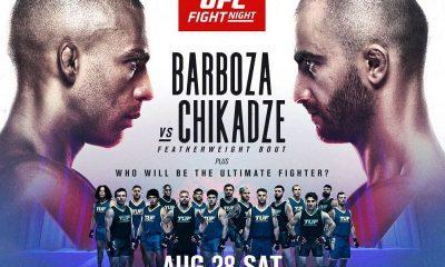 ufc vegas 35 bonuses Edson Barboza vs Giga Chikadze Fight Purse payout salaries results