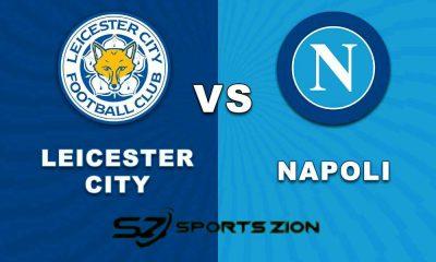Leicester City vs Napoli Free Live Soccer Streams Reddit