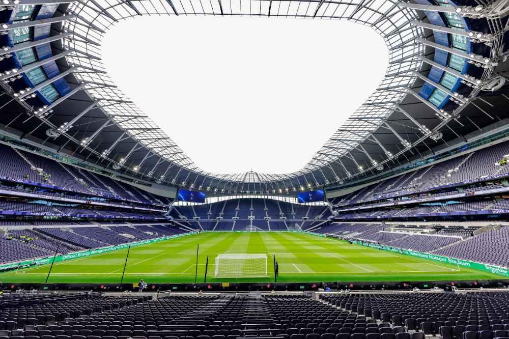Tottenham Hotspur Stadium.