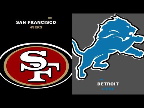 49ers vs Lions Free NFL Live Streams Reddit