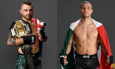 Alexander Volkanovski vs Brian Ortega date time fight card