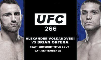 Alexander Volkanovski vs Brian Ortega live stream