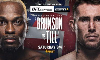Derek Brunson vs Darren Till UFC Vegas 36 Free Live Reddit Stream