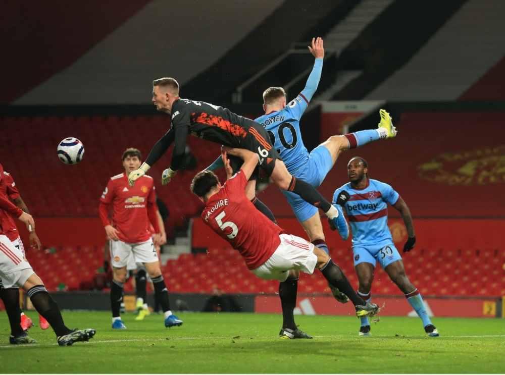 Man United vs West Ham.