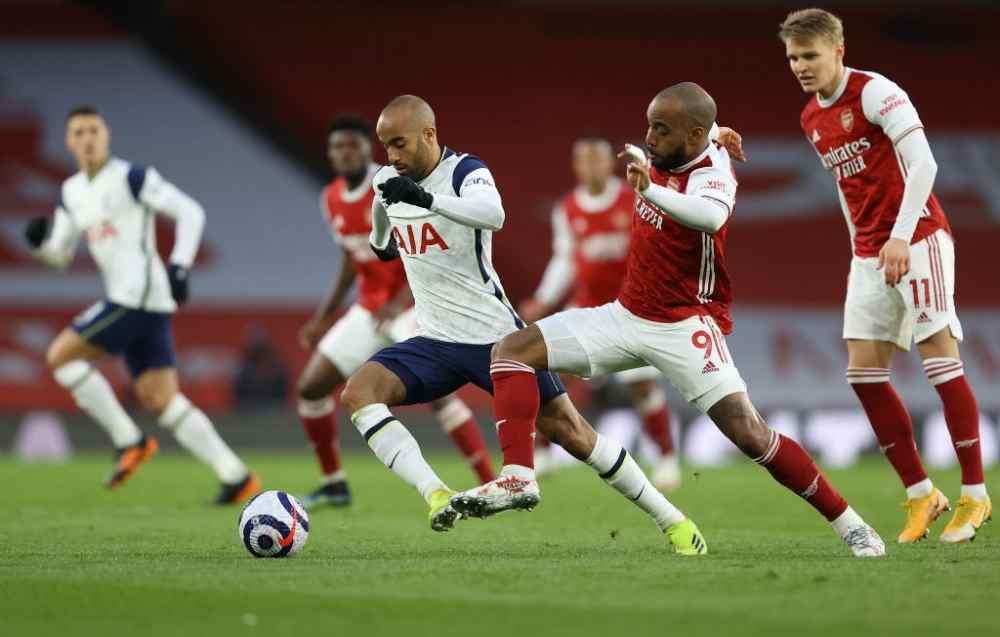 Arsenal vs Tottenham.