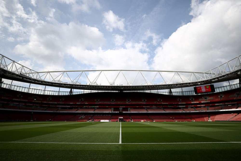 Emirates Stadium.