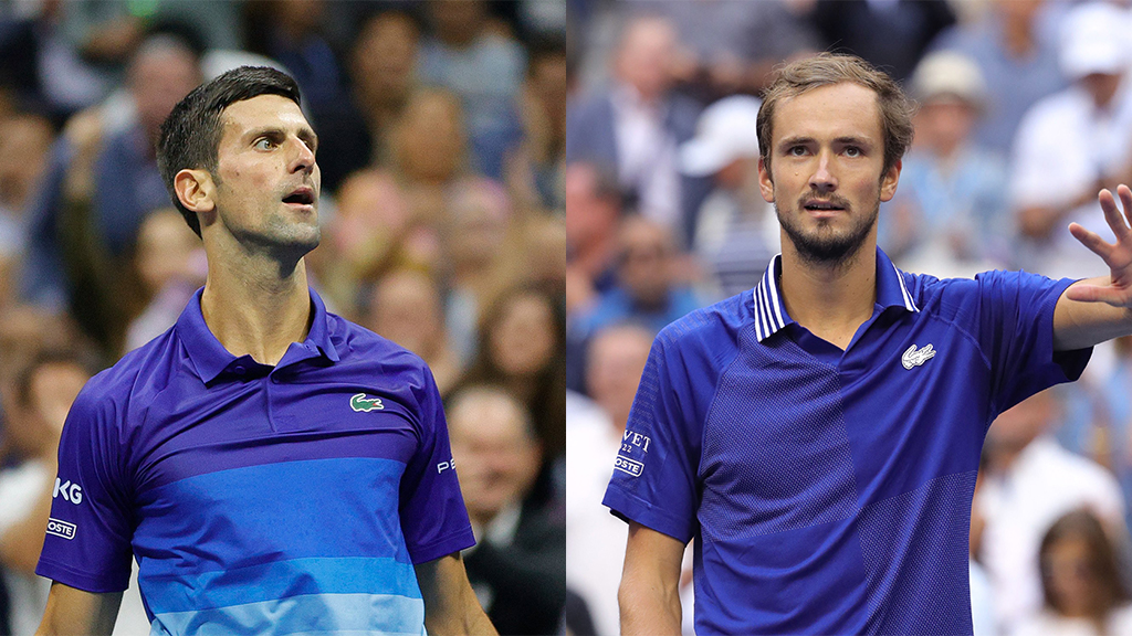 US Open Final Novak Djokovic vs Dannil Medvedev