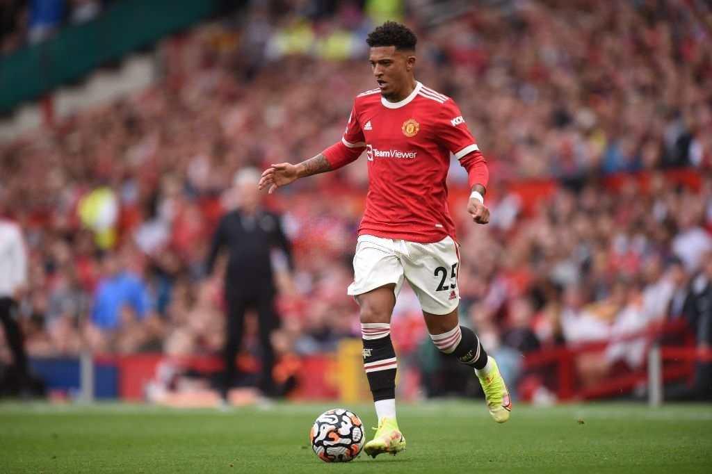 Jadon Sancho Man United vs Newcastle